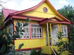 Выкрашенный дом