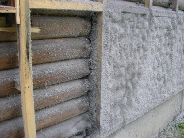 Утепление деревянных стен различными материалами