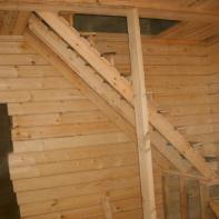 Сделана лестница
