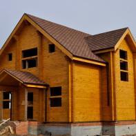 Дом из профилированного бруса двухэтажный
